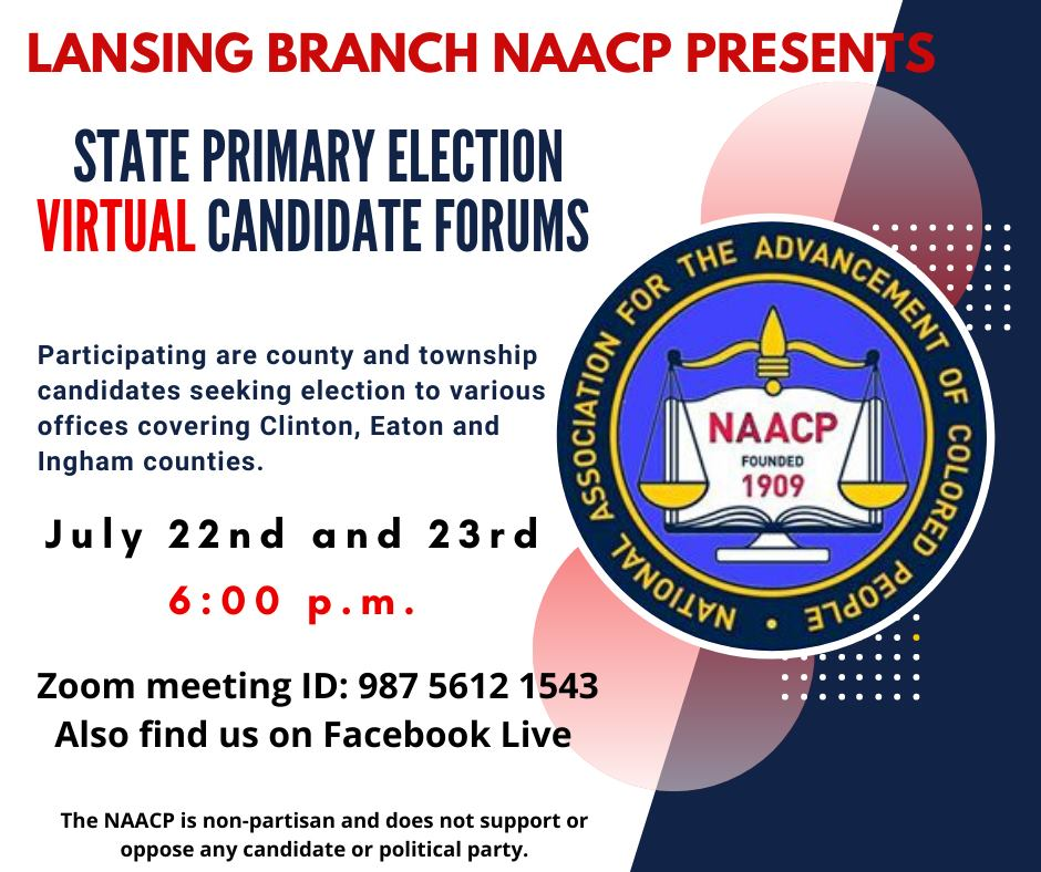 NAACP Virtual Candidate Forum Pam Weil